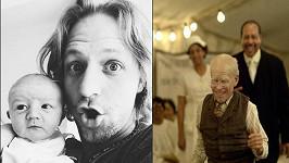 Syn Alfréd Tomášovi připomínal stařečka z filmu Podivuhodný případ Benjamina Buttona.