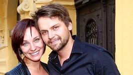 Josef Vágner s přítelkyní