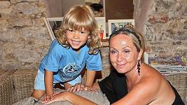 Theodor s maminkou Bárou Basikovou