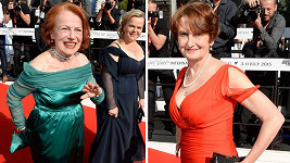 Největšími hvězdami zakončovacího ceremoniálu byly herečky Iva Janžurová a Eva Holubová.