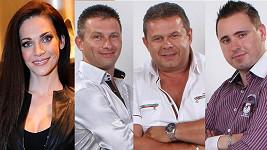 Vdaná Andrea Verešová se zakoukala do těchto tří muzikantů.