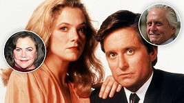 Kathleen Turner a Michael Douglas