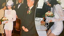 Heidi Janků zavzpomínala na svatbu.