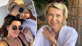Monika má s maminkou kamarádský vztah, vyráží spolu na dovolené.
