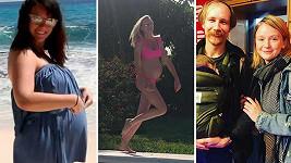 Těmto celebritám se podařilo tajit nový přírůstek do rodiny.