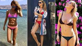 Veronika Kopřivová, Simona Krainová i Dara Rolins by mohly chodit v plavkách pořád.