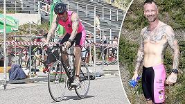 Vágner tentokrát vyzkoušel triatlon.