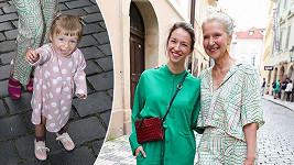 Berenika Kohoutová, Irena Obermannová a malá Lola