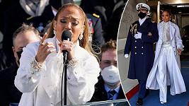 Jennifer Lopez zazpívala na inauguraci amerického prezidenta.
