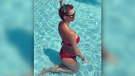 Dominika Mesárošová ukázala svou perfektní figuru v plavkách.