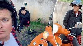 Při projížďce po Malajsii se Andrea Kalousová přetahovala s lupičem o svůj mobil.