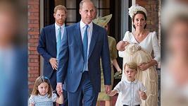 Křtiny prince Louise byly příležitostí k pořízení oficiálních snímků. Více v článku