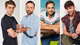 Marek Lambora, Lukáš Langmajer, Filip Tomsa a Roman Tomeš