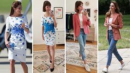 Anna Reichel se obléká podle Kate Middleton.
