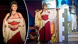 Linda Finková hraje v Kleopatře již 18 let.