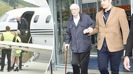 Michael Caine dorazil do Karlových Varů.