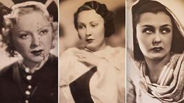Věra Ferbasová, Hana Vítová a Lída Baarová