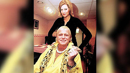 Ilona Csáková a Daniel Nekonečný na snímku z roku 2002