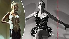 Dara v kostýmu Madonny