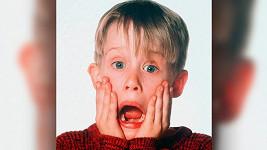 Macaulay Culkin jako Kevin ve filmu Sám doma (1990)