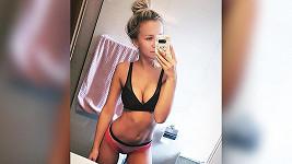 Zlobivá Nela Slováková předvedla sexy křivky v prádle.