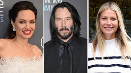 Angelina Jolie, Keanu Reeves a Gwyneth Paltrow
