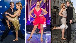 Gabriela Koukalová si tanec užívá.