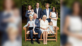 Rodinný snímek britské královské rodiny