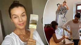 Během malování pokoje není čas na malování obličeje.