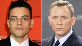 Rami Malek a Daniel Craig se střetnou v nové bondovce.