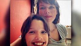 Milla Jovovich s dcerou Ever