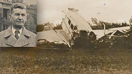 Zakladatel obuvnického impéria Tomáš Baťa zahynul při leteckém neštěstí u Otrokovic.