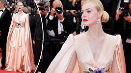 Elle Fanning se stala letošní hvězdou Filmového festivalu v Cannes.