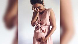 Kateřina Podrazká se těší na druhé dítě.