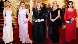 Jak se slavní oblékli na galavečer ve Státní opeře?