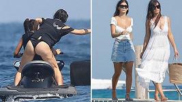 Camila Morrone je na prázdninách i s mámou Lucilou.