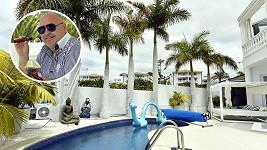 Michal David si k 57. narozeninám dopřál vilu na Tenerife.