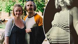 Marie Doležalová se s partnerem těší na prvního potomka. Poslední dny před porodem však komplikuje počasí.