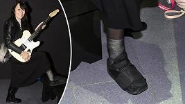 Heidi Janků od návštěvy kina neodradila ani zlomenina nohy.