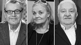 Truchlilo se pro Miloše Formana, Gabrielu Vránovou i Mariána Labudu.