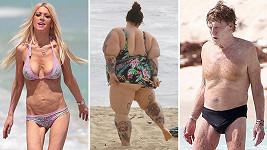 Tyto celebrity by měly chodit raději zahalené.