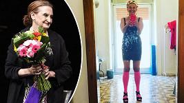 Eva Holubová se předvedla v hodně nelichotivém outfitu.