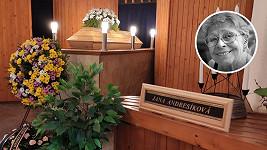 Rodina dala sbohem Janě Andresíkové.