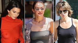 Tyhle slavné dámy se obejdou bez podprsenky...