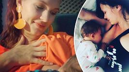 Kristýna Leichtová konec kojení obrečela.
