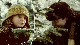 Sandra Flemrová a Josef Polášek ve slavné vánoční reklamě