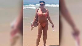 Dáda Patrasová si užívá ve Španělsku.