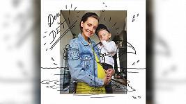 Gabriela Lašková se těší na miminko.