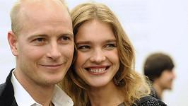Natalia Vodianova s manželem Justinem Portmanem.