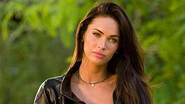 Megan Fox ve filmu Transformers.